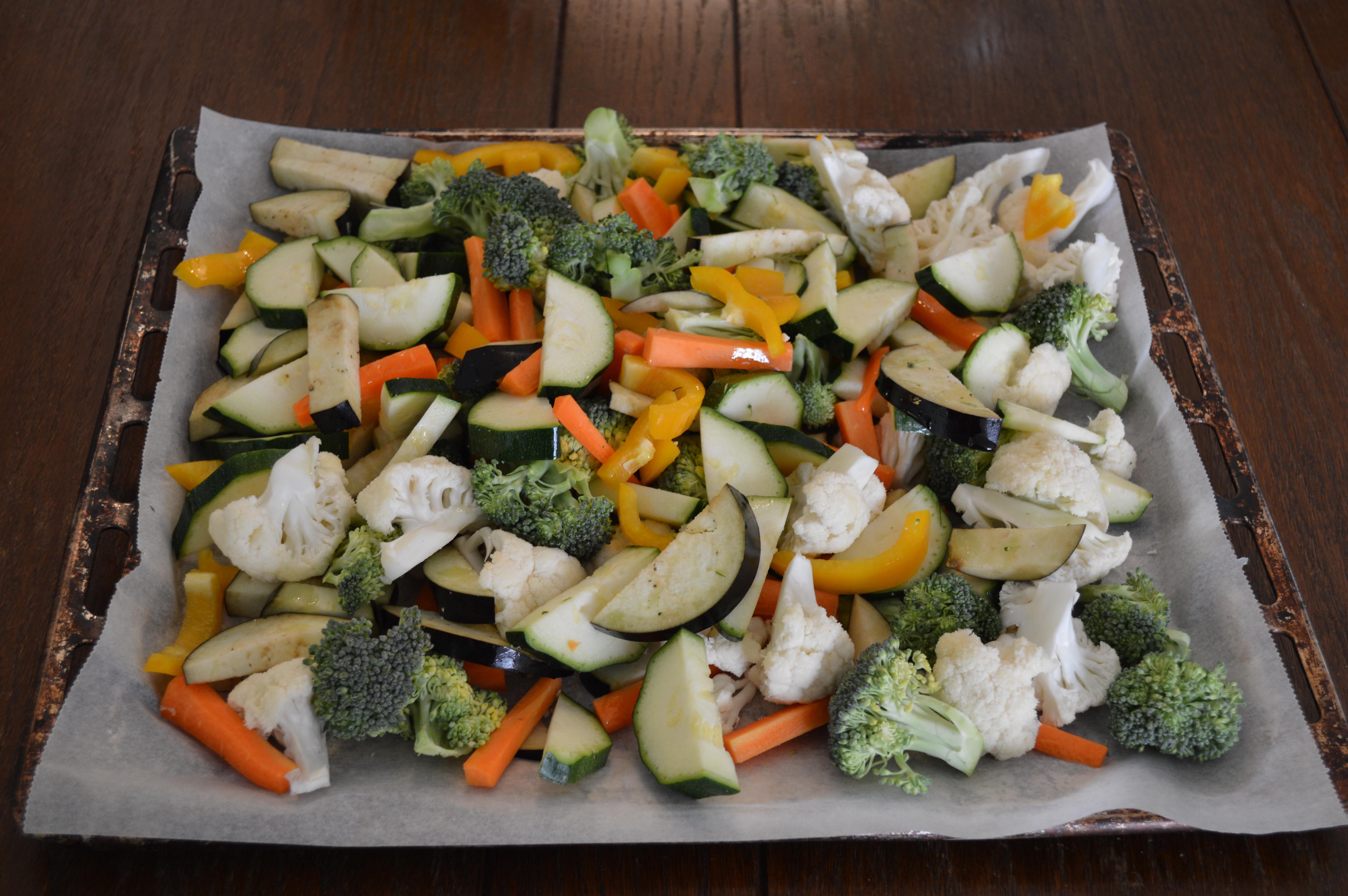 rotgrønnsaker ovn
